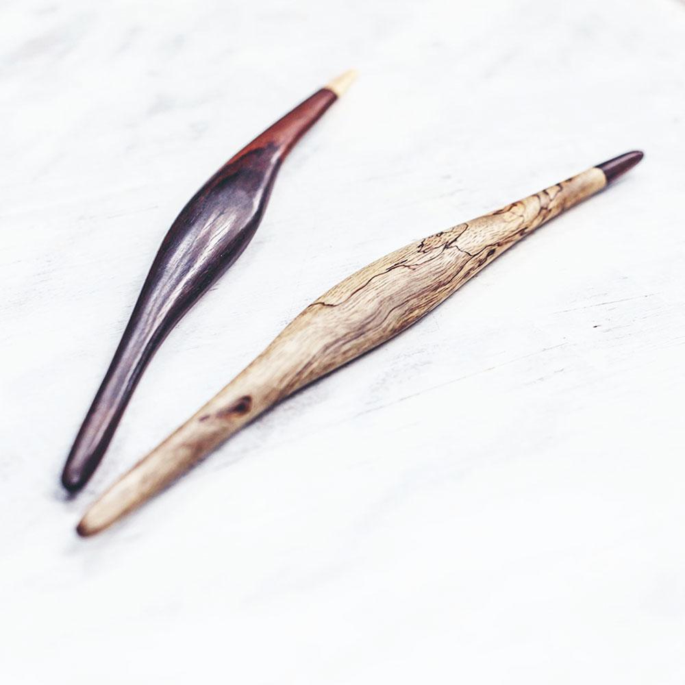 The Double Pandan Hair Sticks