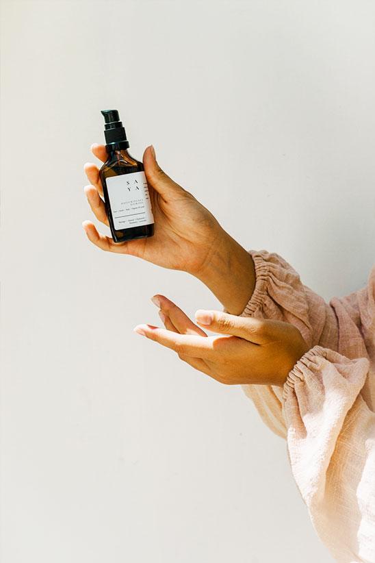 Organic hair oils