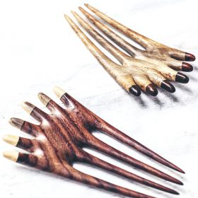 the chanang hair fork in tamarind and rosewood aerial view
