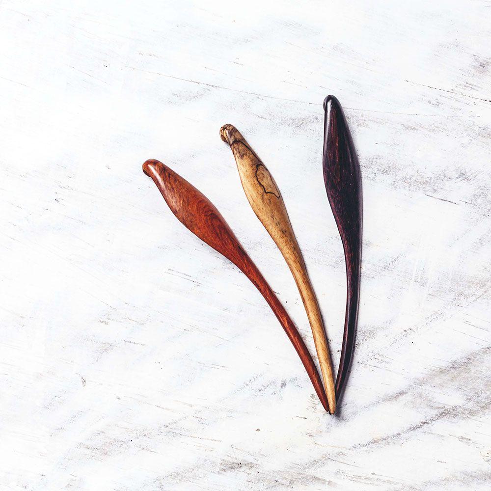 The Banana Leaf Hairstick