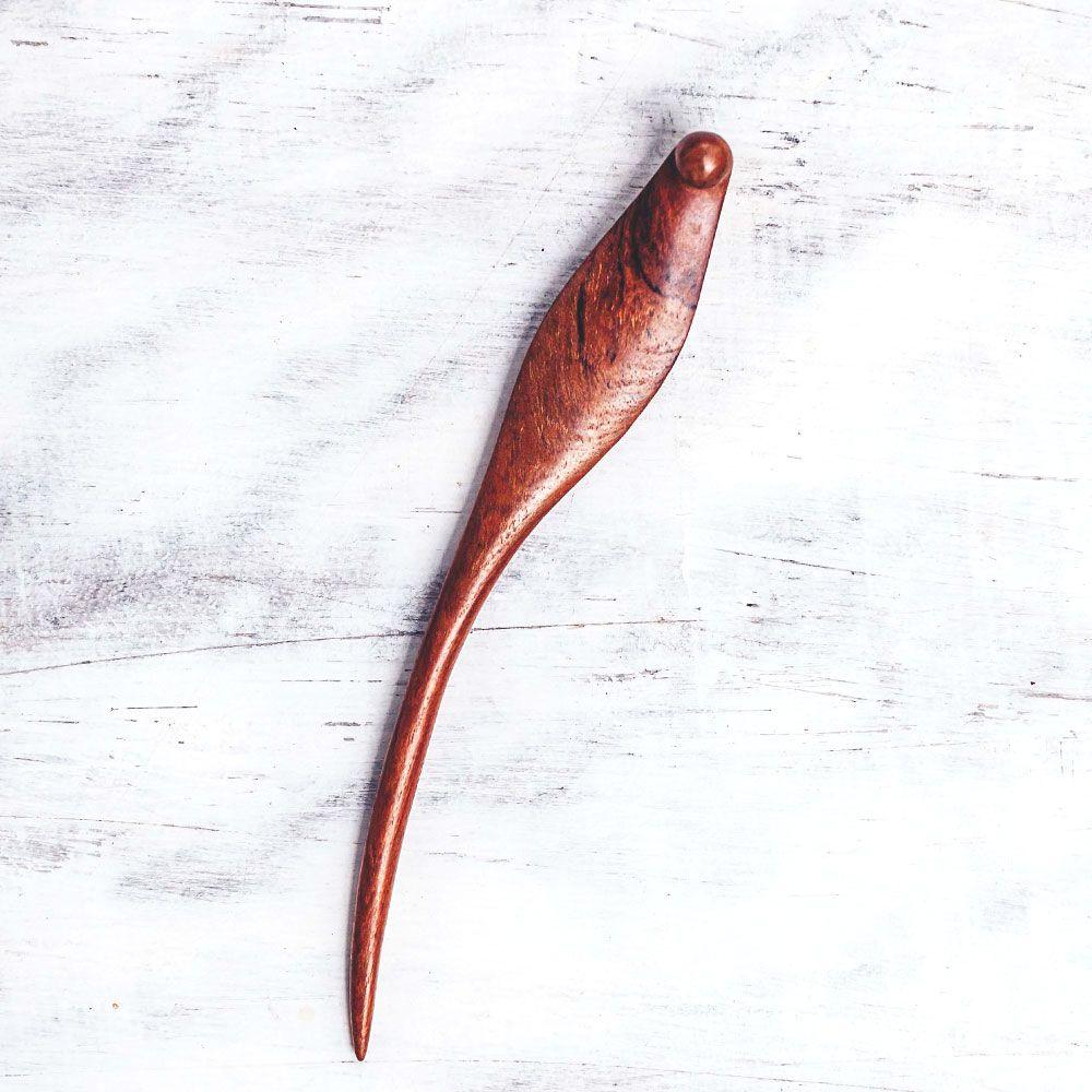 The Banana Leaf Hair Stick