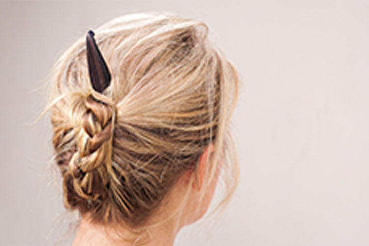 "How to do a ""High Plait"